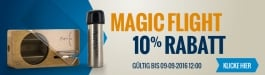 10% Rabatt Magic Flight Launch Box